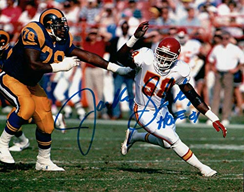 Jackie Slater Signed Autographed 8X10 Photo Rams