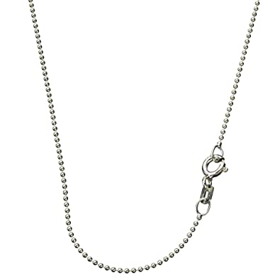 chain silver sliver fine sterling chains necklace inch x necklaces