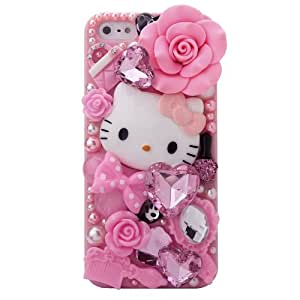 hello kitty iphone case minisdesign garden series 3d bling 8737