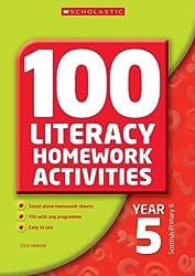 100 Literacy Homework Activities Year 5