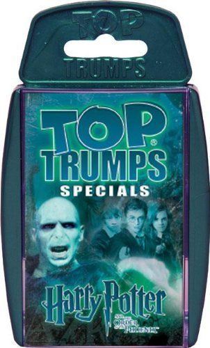 Top Trumps Harry Potter Specials Card Game