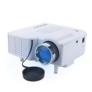 bedee Mini Proyector LED Proyector portátil 320 x 240 Cine ...