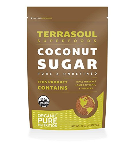 Terrasoul Superfoods Organic Coconut Sugar, 2 - Coconut Palm