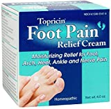 Topricin Foot Pain Relief Therapy Cream (4 oz) Fast