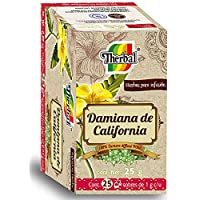 Therbal Té Damiana de California,  25 sobres