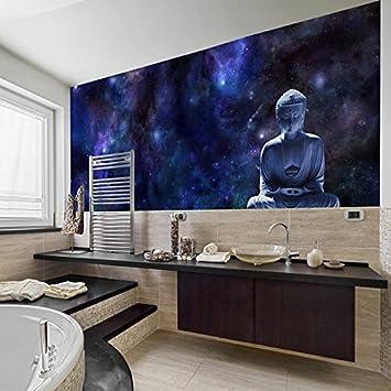Amazon.com: Buddha Statue & Stars Wall Mural Religion Photo ...