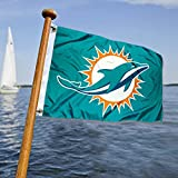 WinCraft Miami Dolphins Boat and Golf Cart Flag