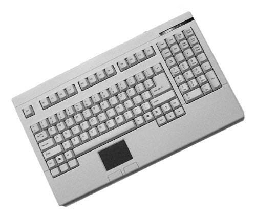 te PS/2 Keyboard with Glidepoint Touchpad (ACK-730PW) ()