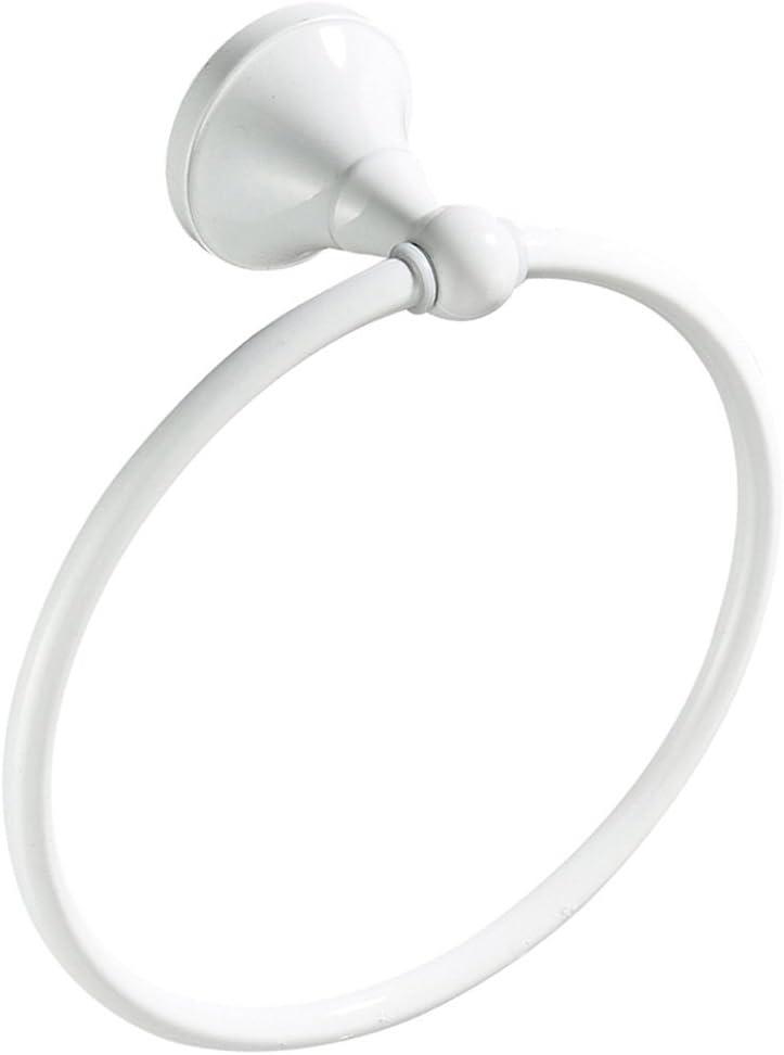 Weiß Messing Handtuchhalter Handtuchring Wandhandtuchhalter Handtuch Ring