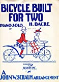 img - for Bicycle Built for Two - Musical Score for voice & piano book / textbook / text book