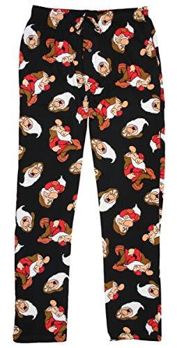 Disney Snow White and The Seven Dwarfs Grumpy Sourpuss Sleep Lounge Pajamas Pants (Large)