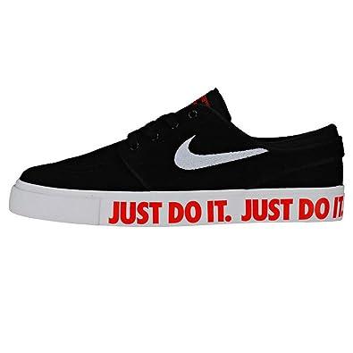 new style bf107 db476 NIKE Boys' Stefan Janoski JDI (gs) Fitness Shoes, Multicolour (Black ...