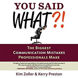 You Said What?! Audiobook