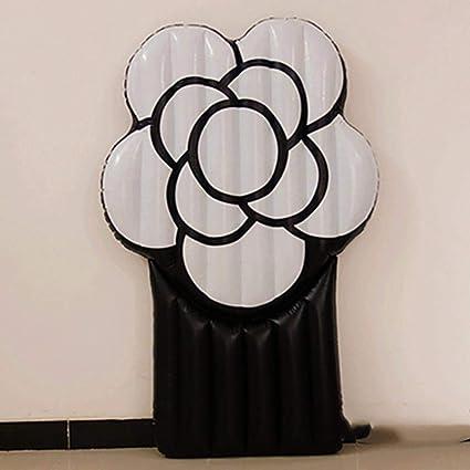 C-GRMM Inflable Gigante Rosa Negra Sexy Flor Piscina ...