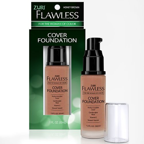 Zuri Flawless Cover Foundation - Honey Brown ()