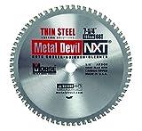 MK Morse CSM72568NTSC Metal Devil Thin Steel Cutting Circular Saw Blade, 7-1/4-Inch Diameter, 68 TPI, 5/8-Inch Arbor