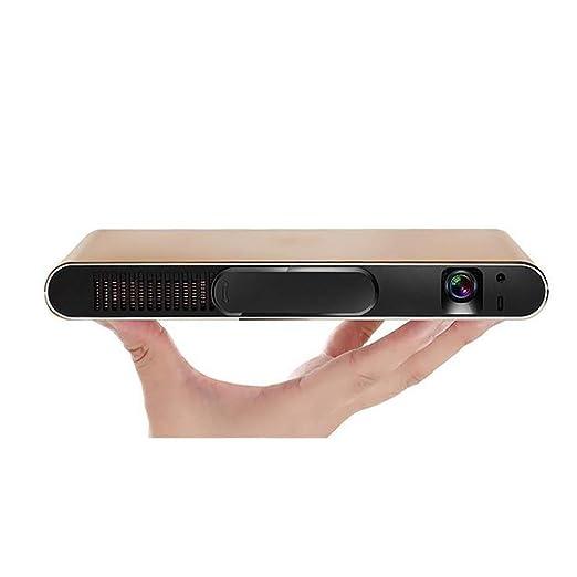 Mini proyector, vídeo 3D Ayuda WiFi proyector, comparten la Misma ...