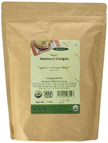 (Davidson's Tea Bulk, Keemun Congou, 1 lbs)