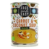 Free & Easy Organic Carrot & Coconut Soup 400g - Pack of 4