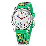 Fashion Brand Quartz Wrist Watch Baby Children Girls Boys Watch Musical Design Waterproof Watches