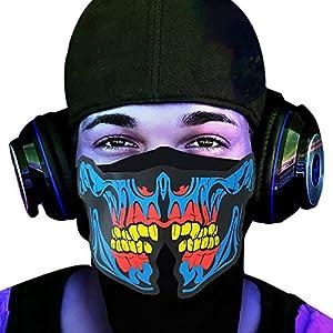 Sweepstakes: FEIYOLD LED Halloween Mask
