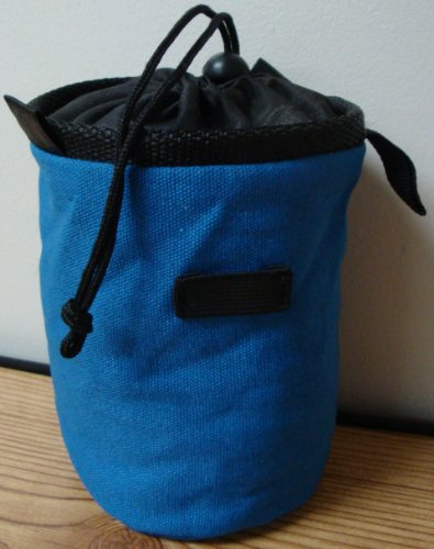 Chalk Bag for Gymnastics, Climbing, and Weight Lifting (Blue)