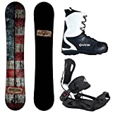 snowboard package - Package-Camp Seven Drifter CRCX 2018 Snowboard-156 cm-System MTN Binding XL-System 2018 APX Snowboard Boots 13