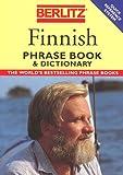 Finnish Phrase Book, Berlitz Editors, 2831513928