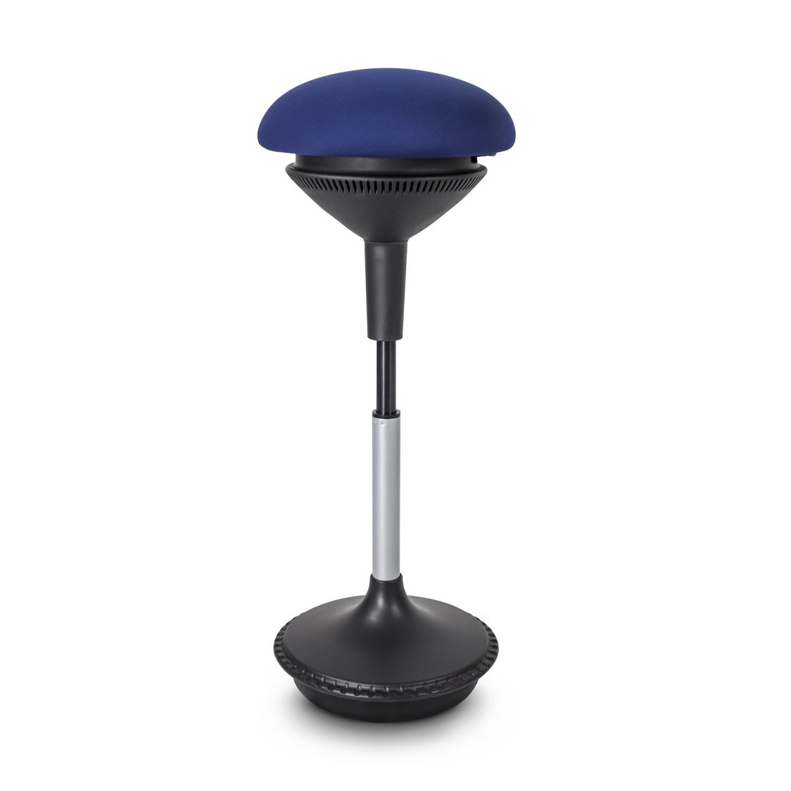 Balancing Adjustable Height Ergostool - Blue