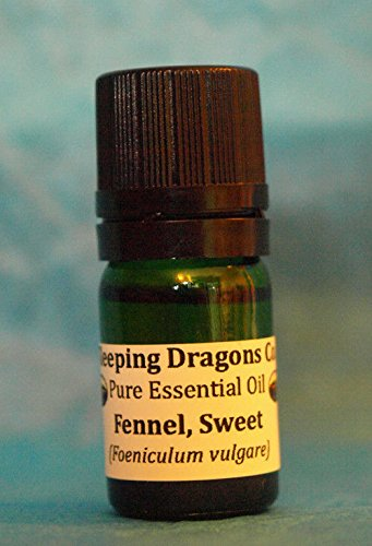 (Ship from USA) Sweet Fennel EO 100% Pure Essential Oil, 5mLs, Aromatherapy, Naturopathy, Soaps *GWE849F EP-21RT110702