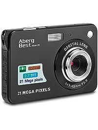 "AbergBest 21 Mega Pixels 2.7"" LCD Rechargeable HD Digital Camera,Video camera Digital Students cameras,Indoor Outdoor for..."
