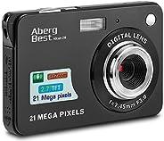 "AbergBest 21 Mega Pixels 2.7"" LCD Rechargeable HD Digital Camera,Video camera Digital Students cameras,In"