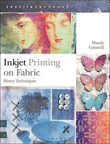 Inkjet Printing on Fabric: Direct Techniques (Textiles Handbooks) -