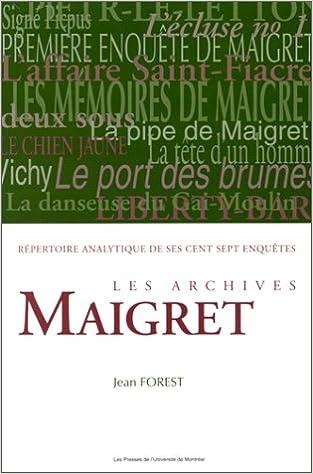 Téléchargement Les archives Maigret pdf