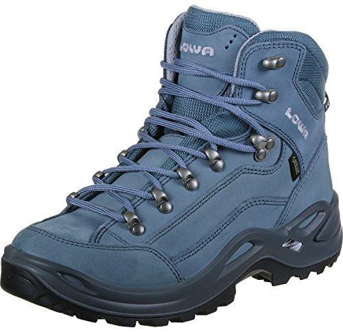 Uomo Stivali Mid Renegade Blue Escursionismo da Lowa Grey GTX Alti 0xCTwwS