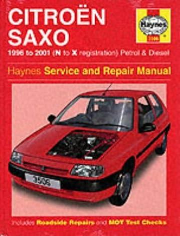 citroen saxo service and repair manual 1996 to 2000 haynes service rh amazon com Citroen Hatchback Citroen ZX