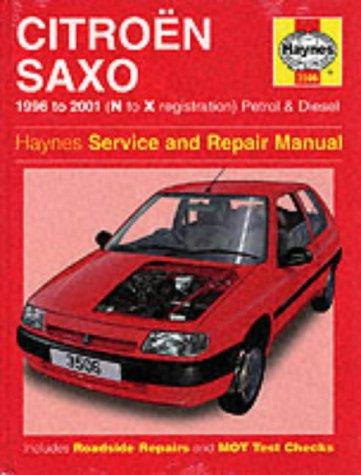 citroen saxo service and repair manual 1996 to 2000 haynes service rh amazon com citroen ax service manual Citroen ZX