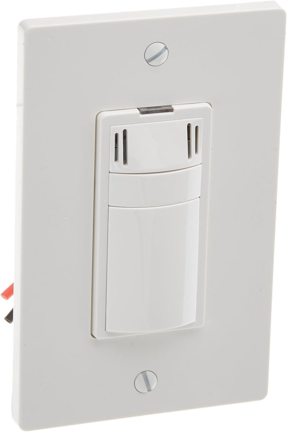 White Panasonic FV-WCSW41-W 4 Function Single Gang WhisperControl Switch