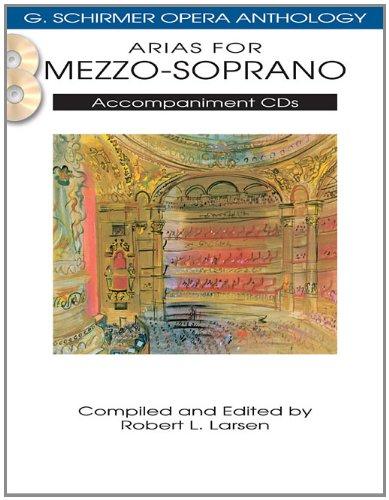 Arias for Mezzo-Soprano: G. Schirmer Opera Anthology Accompaniment CDs (2) ()