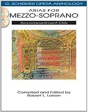 Arias for Mezzo-Soprano: G. Schirmer Opera Anthology Accompaniment CDs (2)