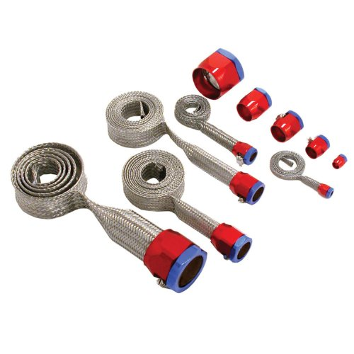 Spectre Performance 7490 Red/Blue Stainless Steel Sleeving Kit ()