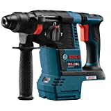 Bosch GBH18V-26-RT 18V EC Cordless Lithium-Ion Brushless 1 in. SDS-Plus Bulldog Rotary Hammer Drill (Certified Refurbished)