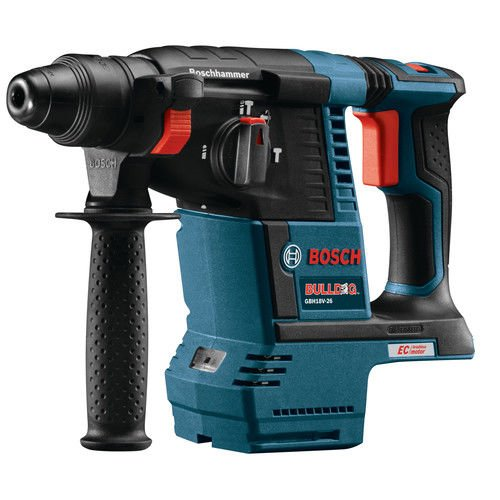 Bosch GBH18V-26-RT 18V EC Cordless Lithium-Ion Brushless 1 in. SDS-Plus Bulldog Rotary Hammer Drill (Certified Refurbished) by Bosch