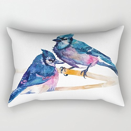 - Bestseason 12 X 20 Inches / 30 By 50 Cm Watercolor Throw Pillow Case ,twice Sides Ornament And Gift To Home Office,bar,living Room,club,wedding,home