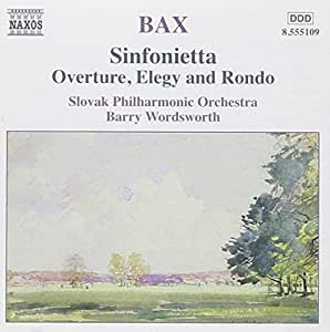 Sinfonietta Overture, Elegy and Rondo