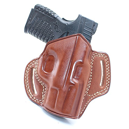 Premium The Ultimate Leather OWB Pancake Holster Open Top Fits, Springfield XD-S 3.3
