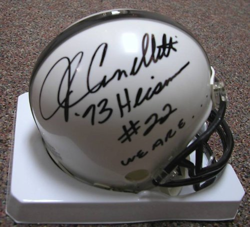 - John Cappelletti Autographed Penn State Mini Riddell Helmet Inscr. Heisman 73 We Are W/ COA