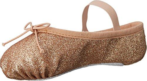 (Bloch Kids Baby Girl's Glitter Dust Ballet Slipper (Toddler/Little Kid) Gold 10.5 M US Little)