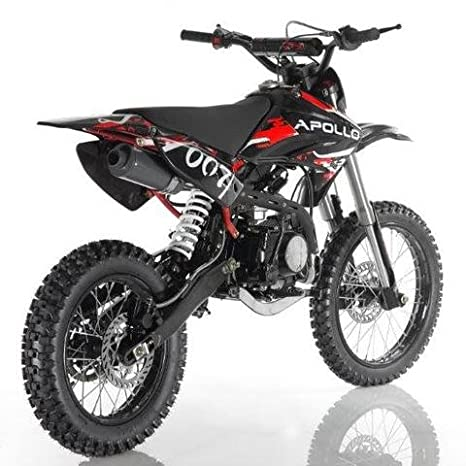 Amazoncom Apollo Db 007 125cc Dirt Bike Red Sports Outdoors