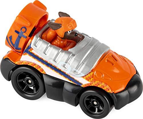 51NBPnNHFaL Tema de licencia infantil: Patrulla Canina Los héroes de la exitosa serie de televisión Paw Patrol ahora están disponibles por primera vez como juguetes de metal. Este set de regalo incluye: Zuma, Chase, Marshall, Rubble y Rocky & Skye como versiones exclusivas (solo incluidas en este set)